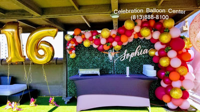 2017 Events Celebration Balloon Center